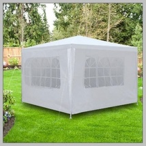 10ft x10ft Outdoor Canopy Wedding Party Tent image 2