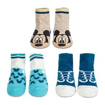 Disney Baby 3 Pack Mickey Mouse Infant Socks  Sz 6-12 Mos - Gift Boxed - $12.99
