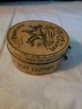 Vintage Propert's Leather & Saddle Soap Tin England has Cloth and Soap image 3