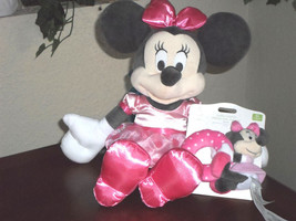 "Disney Baby Minnie Mouse 15"" Plush & Rattle - $24.99"