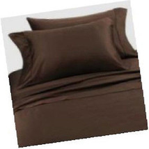 Nautica Chocolate Full Sheet Set  NIP - $51.21