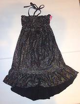 Circo Girls Black Ebony  Dress 6-6X  NWT  Swim cover -up - $15.99