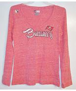 NFL Team Apparel Womens Tampa Bay Buccaneers Long Sleeve Shirt Various S... - $13.99