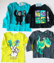 Circo Toddler Boys T-Shirts Various Patterns and Colors Sizes 18M, 2T and 4T NWT - $8.99