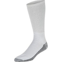 Dickies Men's Dri-Tech Crew 5-pack WORK SOCKS White Shoe Size 6-12 NEW - $11.63