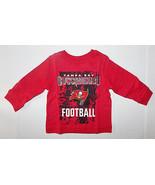 NFL Tampa Bay Buccaneers Boy or Girl Long Sleeve Shirt Infant 6-9M 9-12M... - $12.59