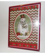 christmas cards box of 20 with  Envelopes Snow Man  NIB - $7.75