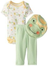 Bon Bebe baby Boys 2 Piece outfit (Frogs ) NWT Sizes-0-3M 3-6M 6-9M - $10.49