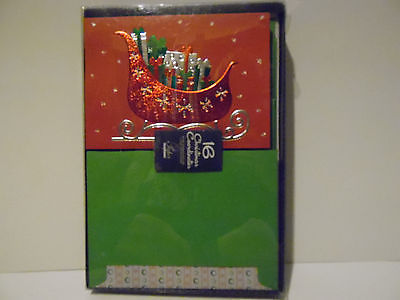 christmas cards box of 16 with  Envelopes      NIB