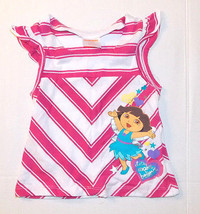 Dora the Explorer Girls T-Shirt Lets Make Believe Size 4 NWOT - $12.99
