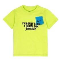 Nike Boys  T-Shirt Green  Top Size -4 ,6  NWT - $10.39