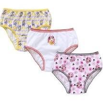Disney Minnie Mouse 3 Pair Girls' Panties Underwear 2 Choices Sizes 4 or 6 NWT - $10.99