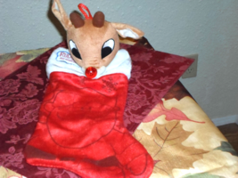 Rudolph the Red Nosed Reindeer Plush Christmas Stocking - $14.99