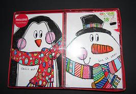 christmas cards box of 18 with  Envelopes      NIB - $6.30