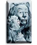 COWARDLY LION WIZARD OF OZ PHONE JACK TELEPHONE WALL PLATE COVER DOROTHY TOTO - $9.89