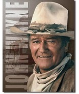 John Wayne Stagecoach Metal Sign Tin New Vintage Style USA #1188 - $10.29