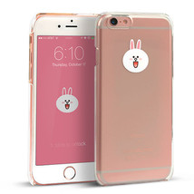 LINE Friends Character CONY iPhone 6/6S Sticker Decor Case Phone Cover M... - $37.39