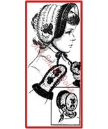 Vintage Pattern for Girls Crocheted Cap/Hat and Mitten Set - $5.99