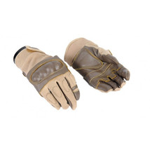 Airsoft Tactical Hard Knuckle Gloves Leather AB... - $15.99