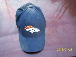 NFL Denver Bronco Reebok cap Navy Blue  - $3.00