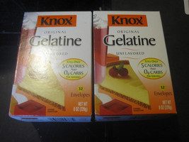 Knox Original Unflavored Gelatine 2-32 Count Boxes - $22.63