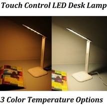 Touch Control LED Desk Lamp 5 Dimmable Settings - Warm Light - Cold Ligh... - $58.74