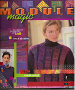 Module Magic Creative Projects to Knit 1 Block at a Time by Ginger Luters - $15.99