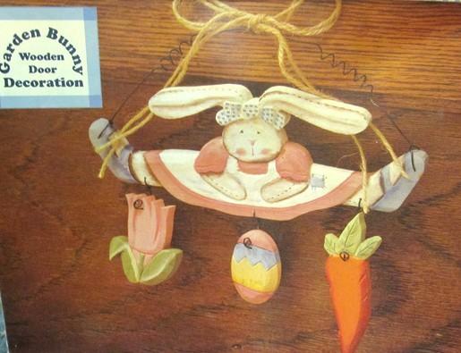 Bunny cute plaque