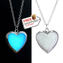 Glow heart Pendant Jewelry Glow in the Dark It Will Make a Perfect WOW-gift - $13.00