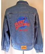 Men's XL Denim Trucker Jacket Planet Hollywood Lake Tahoe - $69.95