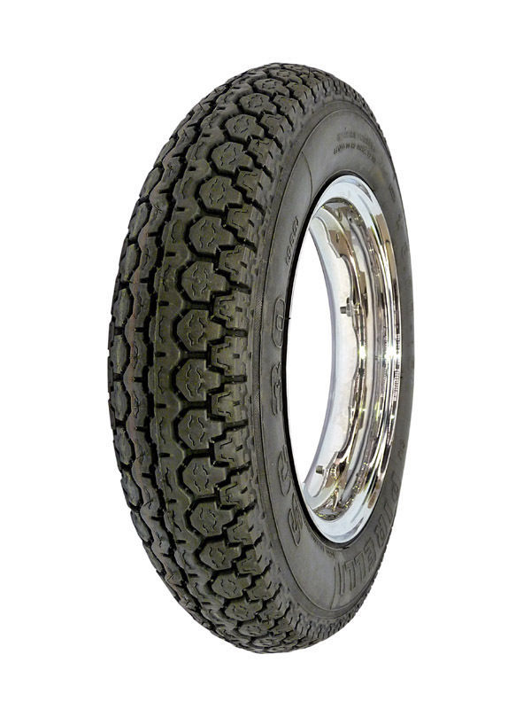 New Pirelli SC30 3.50-10 Traditional Scooter Tire Tube Type Front/Rear