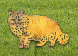 Cat Garden Stake or Wall Hanging / Long Haired - $39.99