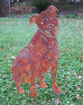 Pit Bull Garden Stake or Wall Hanging - $44.99