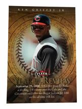 2007 Fleer - Year in Review #YR-KG Ken Griffey Jr. Cincinnati Reds - $2.99