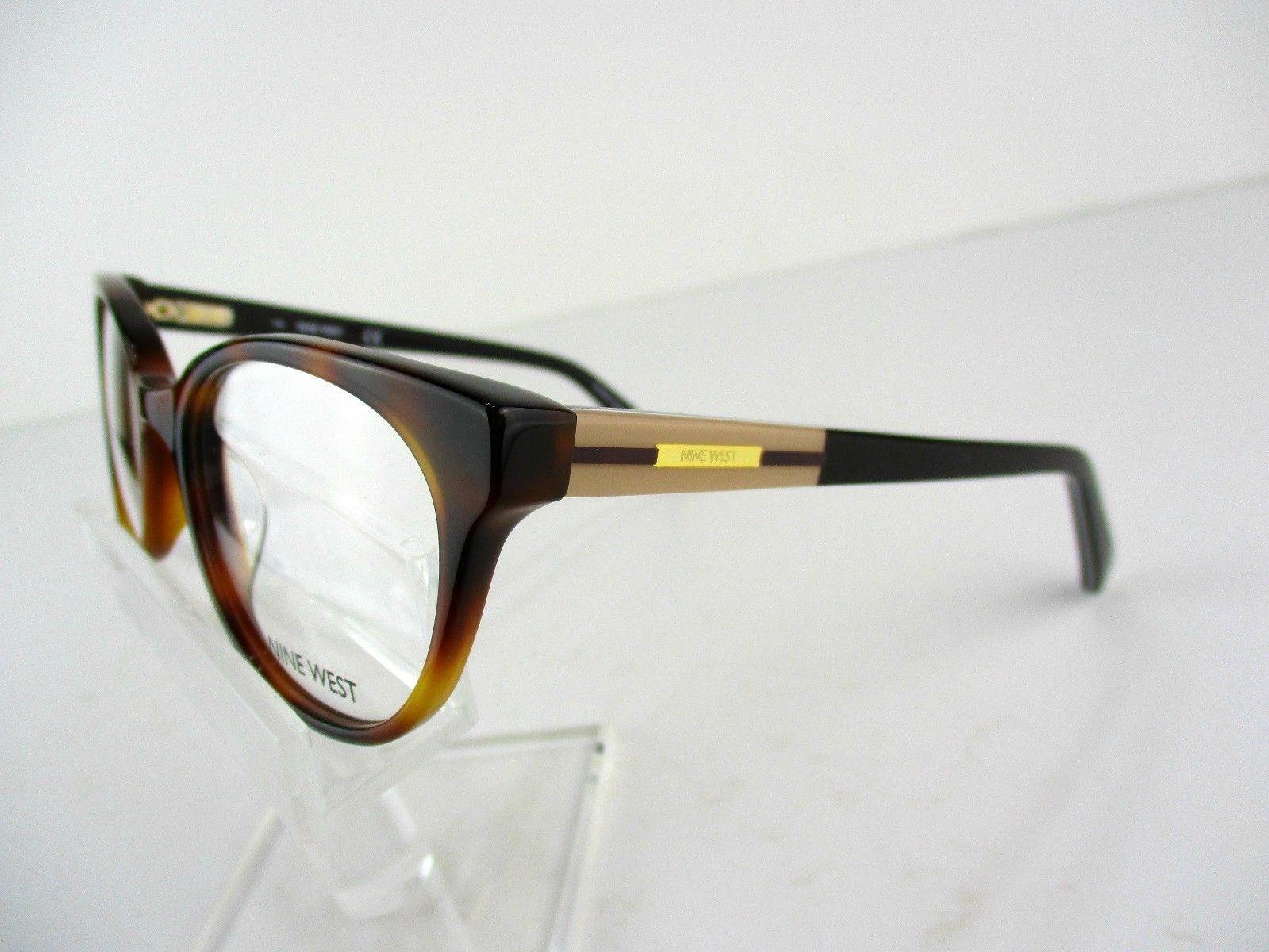 12d11c7b24 Nine West NW 5135 (218) Soft Tortoise 49 x 17 135 mm Eyeglass Frames