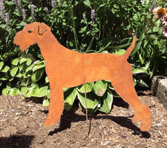 Airedale Terrier Garden Stake or Wall Hanging - $44.99