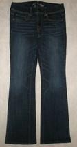 American Eagle Dark Wash Original Boot Cut Stretch Jeans Size 6 Reg - $24.99