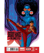 DEADLY HANDS of KUNG FU #2 (Marvel Comics, 2014) NM! - $1.50