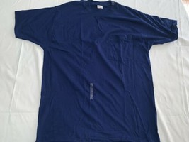 Vintage USA Made BVD COMBED COTTON  Pocket T-Shirt XL BLUE Reg NWOT New - $20.90