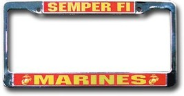 Marines License Plate Frame (Semper Fi) - $14.94