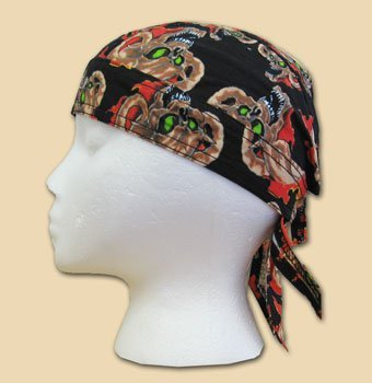 Devil in flames ezdanna headwrap 10624