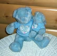 Bears Need Hugs & Homes- Blue Big & New Baby Brother Sweet Nursery Bear Set - $7.29