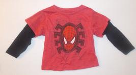 Marvel Spiderman Toddler Boys Long Sleeve Shirt Size 2T EUC - $6.30