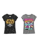 Marvel or Star wars yoda Top T-Shirt Sizes XS 4-5  S 6-6X M 7-8 L 10-12 NWT - $9.09