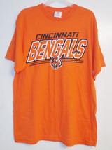 NFL Team Apparel Mens Cincinnati Bengals T-Shirt Sizes Medium and Large NWT - $15.99