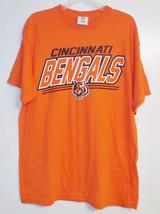 NFL Team Apparel Mens Cincinnati Bengals T-Shirt Sizes Medium and Large NWT - $10.39