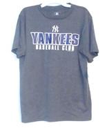 MLB Genuine Merchandise Boys Yankees Baseball Club T-Shirt Size Large 16... - $14.99