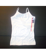 Cherokee Girls Strappy Cami White Sizes XSmall 4-5 or Small 6-6X NWT - $5.84