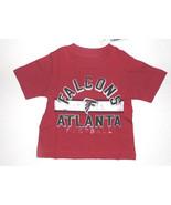 NFL Atlanta Falcons Boy Girl T- Shirt  Infant Sizes 6-9M and 9-12M NWT - $12.59