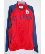 MLB St.Louis Cardinals Mens Track Jacket  NWT - $39.99